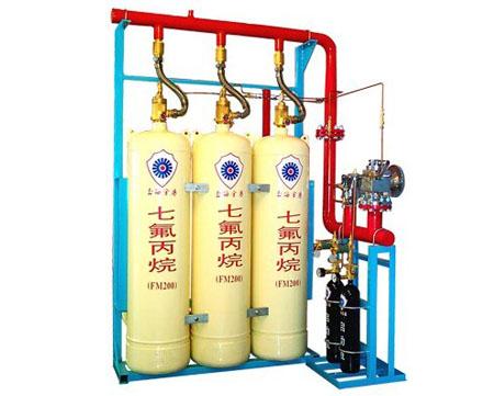 七氟丙烷有管网灭火系统中心